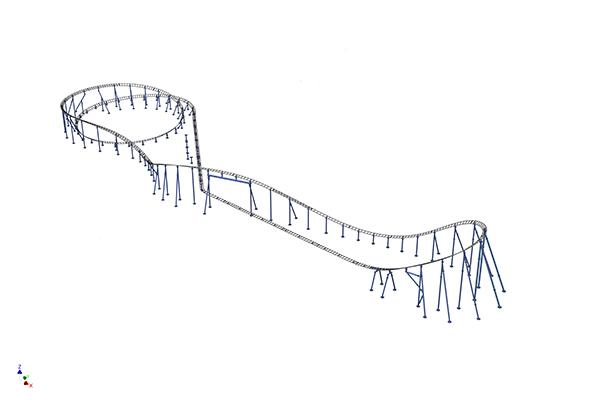 Moto Coaster render