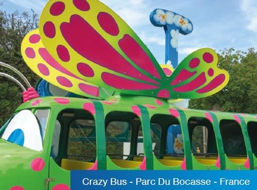 Crazy Bus - Parc Du Bocasse