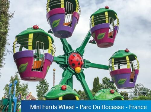 Mini Ferris Wheel - Parc Du Bocasse