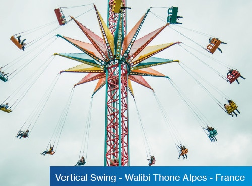 Vertical Swing - Walibi Thone Alpes France