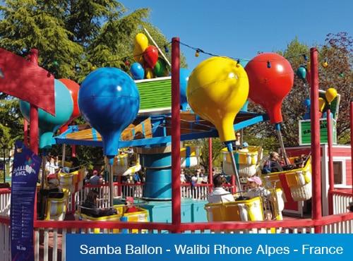 Samba Ballon - Walibi Rhone Alpes