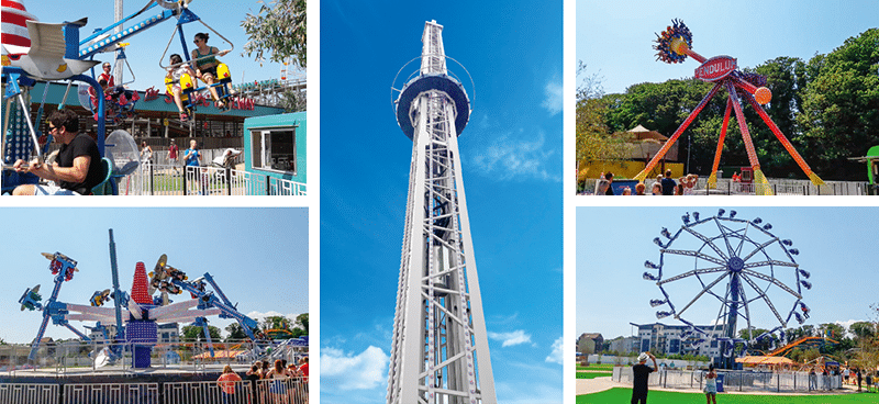 Thrill/Family rides package for UK's Dreamland park