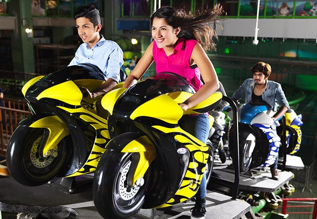 Moto Coaster at Adventureland