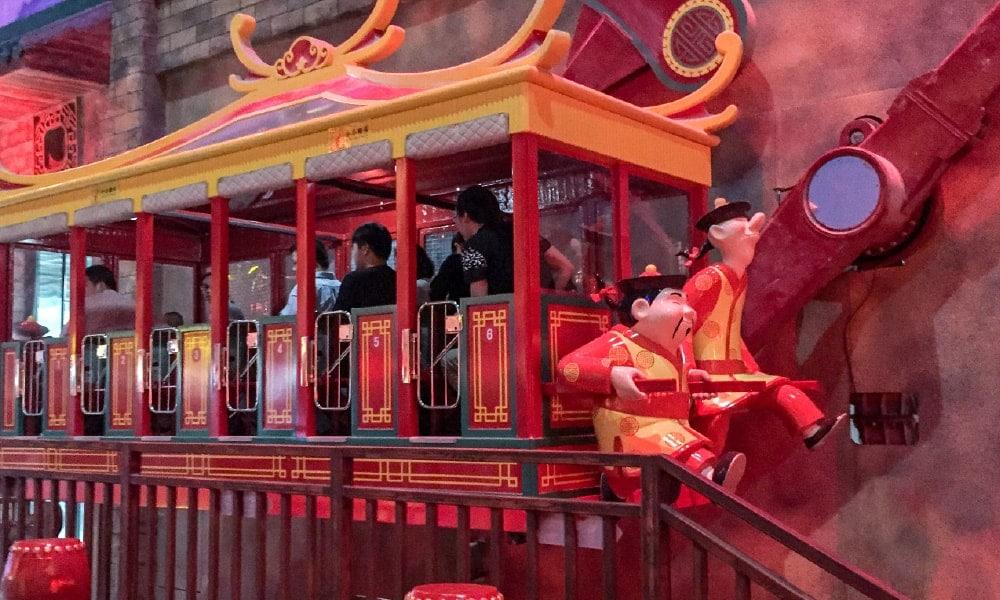 Zamperla rides for Wanda Group