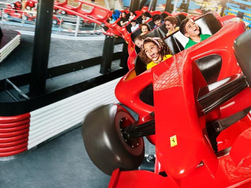 Junior Coaster Formula Rossa Junior a Ferrari World