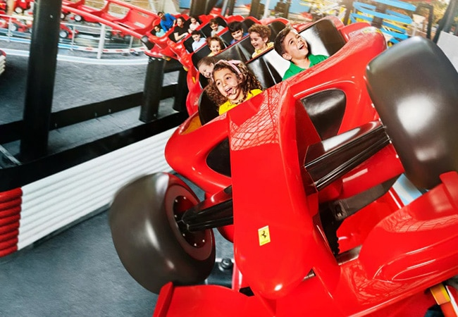 Junior Coaster Formula Rossa Junior a Ferrari World