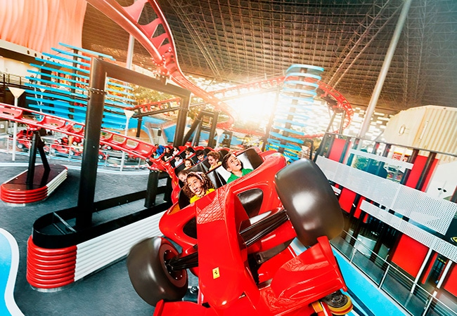 Formula Rossa Junior project at Ferrari World