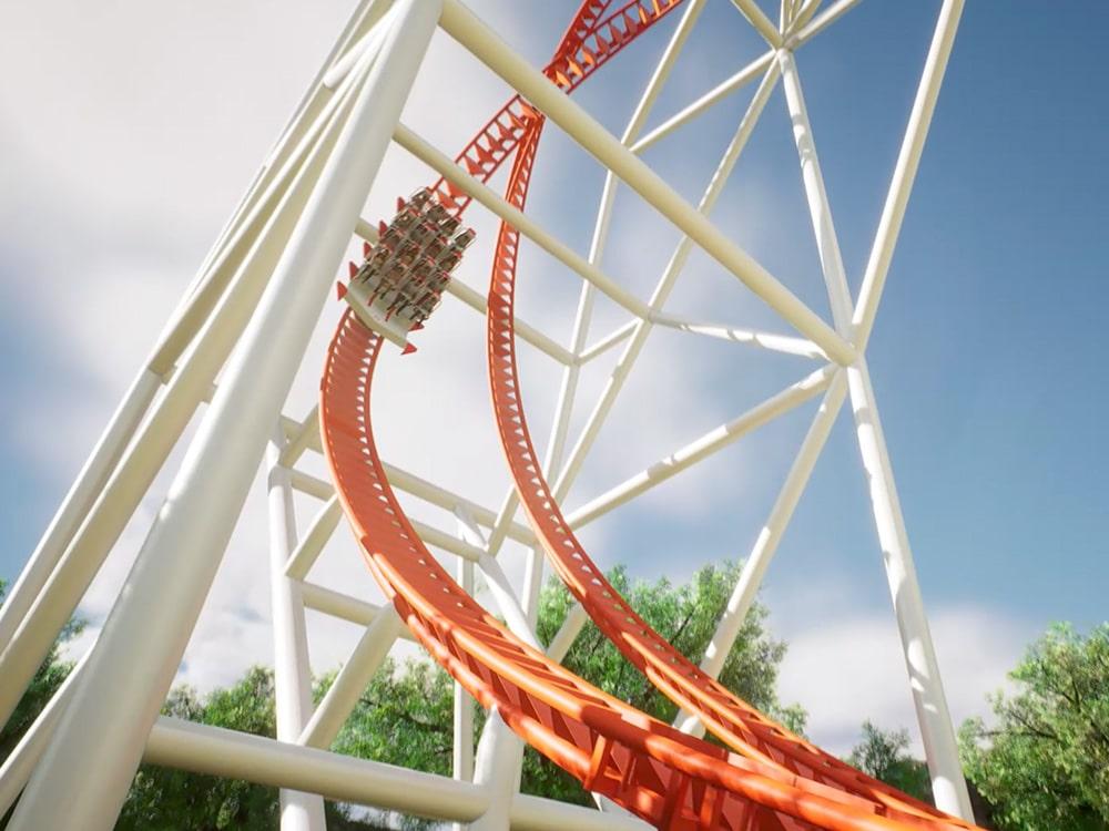 Double Heart Coaster 50mt